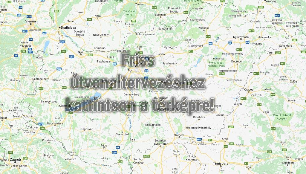 ccd3395f78 Magyarország térkép és Google útvonaltervező
