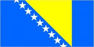 Bosznia és Hercegovina zászlója