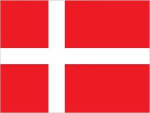 Dánia zászló