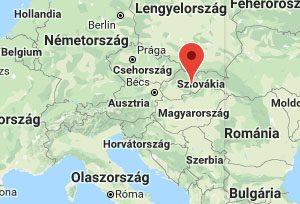 Szlovakia Magyarorszag Terkep Es Google Utvonaltervezo